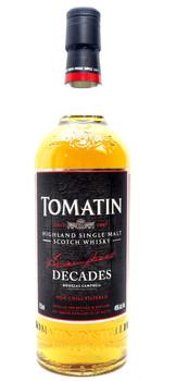 TOMATIN DECADES SCOTCH WHISKEY