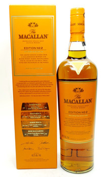 THE MACALLAN EDITION No 2. SINGLE MALT SCOTCH WHISKEY