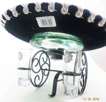 MARIACHI HAT BLANCO TEQUILA
