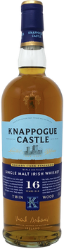 Knappogue Castle Single Malt Irish Whiskey 16 year old