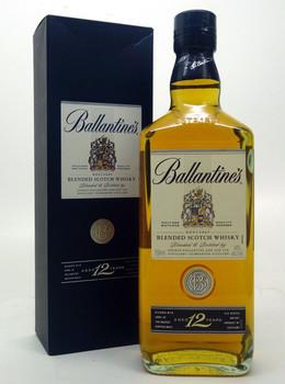 Whiskey, Scotch - Ballantines Blended Scotch Whiskey Aged 12 years