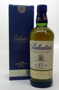 Whiskey, Scotch - Ballantines Blended Scotch Whiskey Aged 17 years