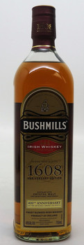 Bushmill's Irish Whiskey 1608 Anniversary Edition