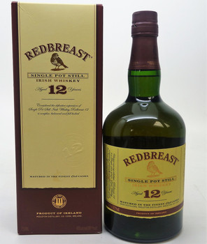 REDBREAST 12 years Single Pot Still, Irish Whiskey