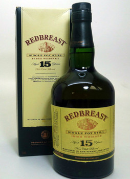 REDBREAST 15 years Single Pot Still Irish Whiskey