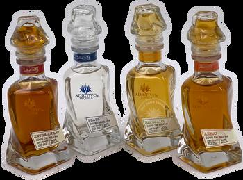 Adictivo Tequila Mini Bottle Collection 4 X 50ml