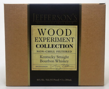 Jefferson's Bourbon Whiskey Ridiculously Small Batch Box Set (5)