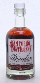 San Diego Distillery Single Barrel Bourbon Whiskey