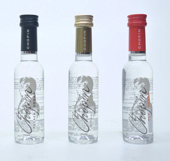 Chopin Vodka 3-Piece Mini Bottle Set