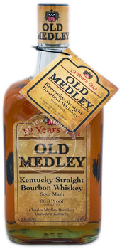 Old Medley 12 Years Bourbon Whiskey
