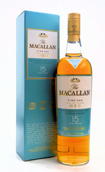 MACALLAN FINE OAK SINGLE MALT WHISKEY 15 YEAR