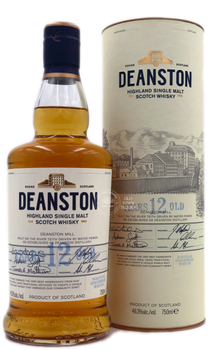 Deanston Single Malt Scotch Whisky 12 years
