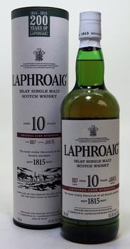 Laphroaig 10 year cask strength Single Malt