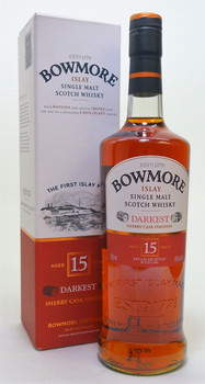 Bowmore Single Malt Darkest Cask 15 year