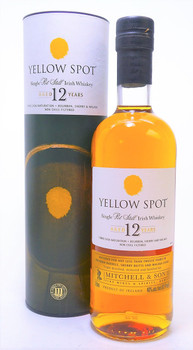 Yellow Spot 12 yr Irish Whiskey