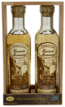 Herencia Mexicana Tequila (375 mL each) 2-Piece Añejo & Reposado