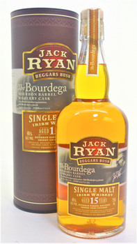 Jack Ryan Beggars Bush 15 year The Bourdega Single Malt Whiskey