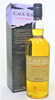 Caol Ila Stitchell Reserve Single Malt Scotch