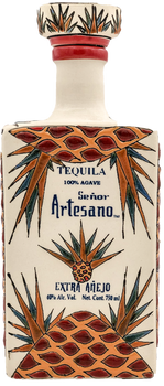 Señor Artesano Extradited  Anejo Tequila