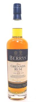 Berrys' Finest Grenada Rum 13 Year