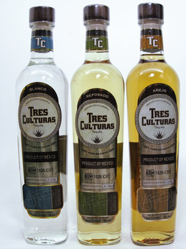 TRES CULTURAS TEQUILA SET (THREE BOTTLES)