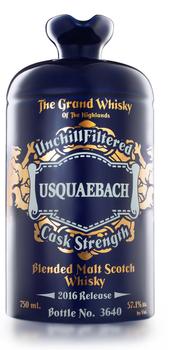 Usquaebach Cask Strength 114.2 Blended Malt Scotch Whisky
