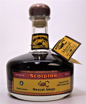 Scorpion 3 years  Añejo Tobala Mezcal