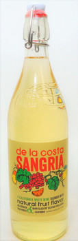 De La Costa Sangria California White Wine