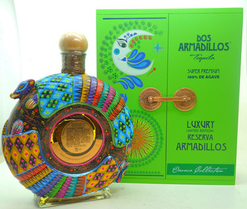 Dos Armadillos Extra Anejo artist Edition Green Box
