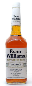 Evan Williams 100 proof Kentucky straight bourbon whiskey