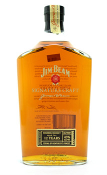 JIM BEAN SIGNATURE CRAFT AGED 12 YEARS