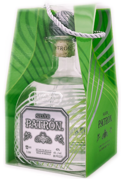 Patron Silver Limited Edition 1 Liter with Bag