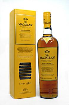THE MACALLAN SINGLE MALT EDITION NO.3