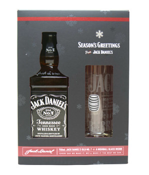 Jack Daniel's Old N0.7 with HighBall Glass