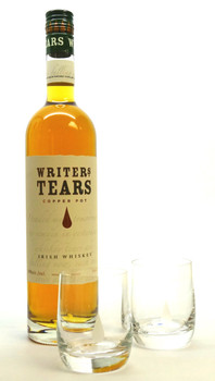 Writers Tears Copper Pot Irish Whiskey Gift Set with Glasses