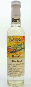 Escorpion Arroqueño Barril Silver Mezcal 375ml