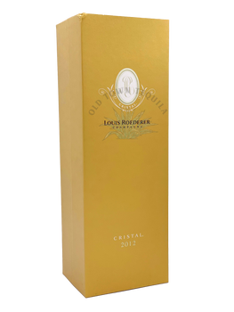Louis Roederer Cristal Brut 2012 Champagne gift box