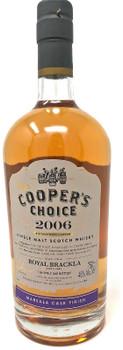 COOPER'S CHOICE 2006 ROYAL BRACKLA MARSALA CASK SINGLE MALT WHISKY