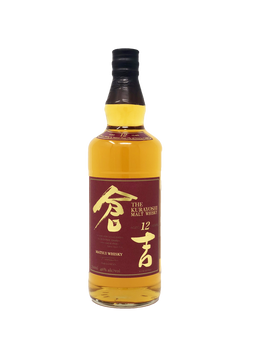 KURAYOSHI MALT WHISKY 12 YEAR 46% 750ML