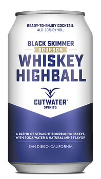 Cutwater Black Skimmer Whiskey Highball