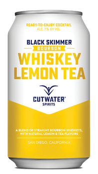 Cutwater Black Skimmer Whiskey Lemon Tea