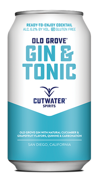 Cutwater Old Grove Gin & Tonic