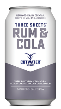 Cutwater Three Sheets Rum & Cola