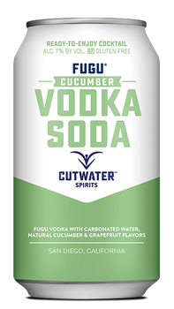 Cutwater Fugu Cucumber Vodka Soda