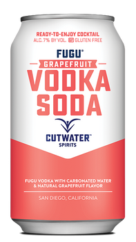 Cutwater Fugu Grapefruit Vodka Soda
