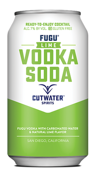 Cutwater Fugu Lime Vodka Soda