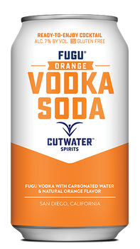 Cutwater Fugu Orange Vodka Soda