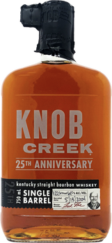 Knob Creek 25th Anniversary Single Barrel Bourbon