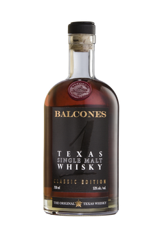Balcones Texas Single Malt Whisky