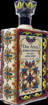Dos Artes Reserva Especial 1.75 L Extra Anejo Tequila side view
